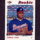 1996 Score Baseball #501 Terrell Wade - Atlanta Braves