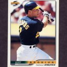 1996 Score Baseball #490 Scott Brosius - Oakland A's