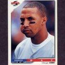 1996 Score Baseball #476 Derrick May - Chicago Cubs