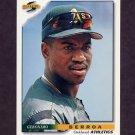 1996 Score Baseball #470 Geronimo Berroa - Oakland A's