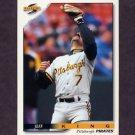1996 Score Baseball #462 Jeff King - Pittsburgh Pirates