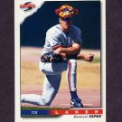1996 Score Baseball #452 Tim Laker - Montreal Expos