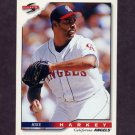 1996 Score Baseball #434 Mike Harkey - California Angels