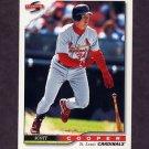 1996 Score Baseball #430 Scott Cooper - St. Louis Cardinals