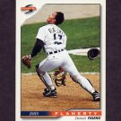 1996 Score Baseball #424 John Flaherty - Detroit Tigers