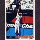 1996 Score Baseball #420 Stan Javier - San Francisco Giants