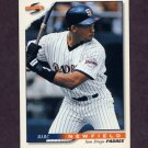 1996 Score Baseball #349 Marc Newfield - San Diego Padres