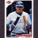 1996 Score Baseball #346 Gary Gaetti - St. Louis Cardinals