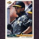 1996 Score Baseball #339 Danny Tartabull - Oakland A's