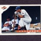 1996 Score Baseball #331 Brady Anderson - Baltimore Orioles