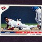 1996 Score Baseball #325 Kenny Lofton - Cleveland Indians