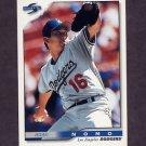 1996 Score Baseball #320 Hideo Nomo - Los Angeles Dodgers