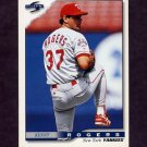 1996 Score Baseball #319 Kenny Rogers - New York Yankees