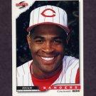 1996 Score Baseball #311 Reggie Sanders - Cincinnati Reds