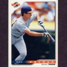 1996 Score Baseball #309 Travis Fryman - Detroit Tigers