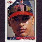 1996 Score Baseball #305 Manny Ramirez - Cleveland Indians