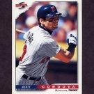 1996 Score Baseball #299 Marty Cordova - Minnesota Twins
