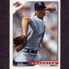 1996 Score Baseball #291 Mark Langston - California Angels