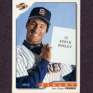 1996 Score Baseball #287 Steve Finley - San Diego Padres