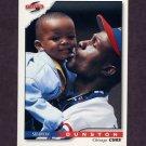 1996 Score Baseball #280 Shawon Dunston - Chicago Cubs
