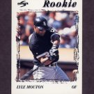 1996 Score Baseball #257 Lyle Mouton - Chicago White Sox