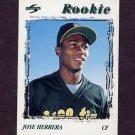 1996 Score Baseball #250 Jose Herrera - Oakland A's