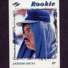 1996 Score Baseball #221 Antonio Osuna - Los Angeles Dodgers