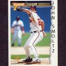 1996 Score Baseball #200 John Smoltz RR - Atlanta Braves
