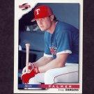 1996 Score Baseball #179 Dean Palmer - Texas Rangers