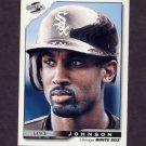 1996 Score Baseball #148 Lance Johnson - Chicago White Sox