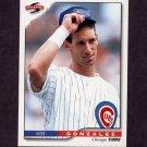 1996 Score Baseball #146 Luis Gonzalez - Chicago Cubs