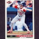 1996 Score Baseball #143 Jose Oquendo - St. Louis Cardinals