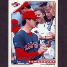 1996 Score Baseball #141 Bob Tewksbury - Texas Rangers