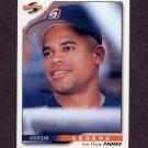 1996 Score Baseball #121 Andujar Cedeno - San Diego Padres