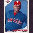 1996 Score Baseball #113 Otis Nixon - Texas Rangers
