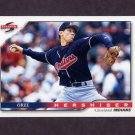 1996 Score Baseball #096 Orel Hershiser - Cleveland Indians