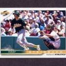 1996 Score Baseball #095 Terry Steinbach - Oakland A's