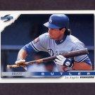 1996 Score Baseball #091 Brett Butler - Los Angeles Dodgers