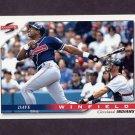 1996 Score Baseball #083 Dave Winfield - Cleveland Indians