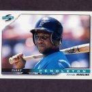 1996 Score Baseball #049 Terry Pendleton - Florida Marlins