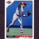 1996 Score Baseball #041 Darren Lewis - Cincinnati Reds