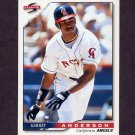 1996 Score Baseball #035 Garret Anderson - California Angels