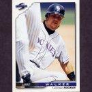 1996 Score Baseball #013 Larry Walker - Colorado Rockies