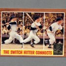 1997 Topps Baseball Mantle Insert #34 Mickey Mantle / 1962 Topps In Action - New York Yankees