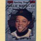 1997 Topps Baseball Mays Finest Insert #15 Willie Mays - San Francisco Giants