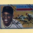 1997 Topps Baseball Mays Finest Insert #08 Willie Mays - New York Giants