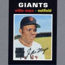 1997 Topps Baseball Mays Insert #25 Willie Mays - San Francisco Giants