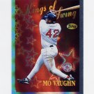 1997 Topps Baseball Season's Best #SB14 Mo Vaughn - Boston Red Sox