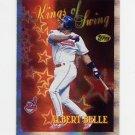 1997 Topps Baseball Season's Best #SB12 Albert Belle - Cleveland Indians