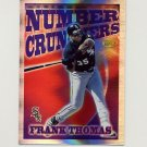 1997 Topps Baseball Season's Best #SB02 Frank Thomas - Chicago White Sox